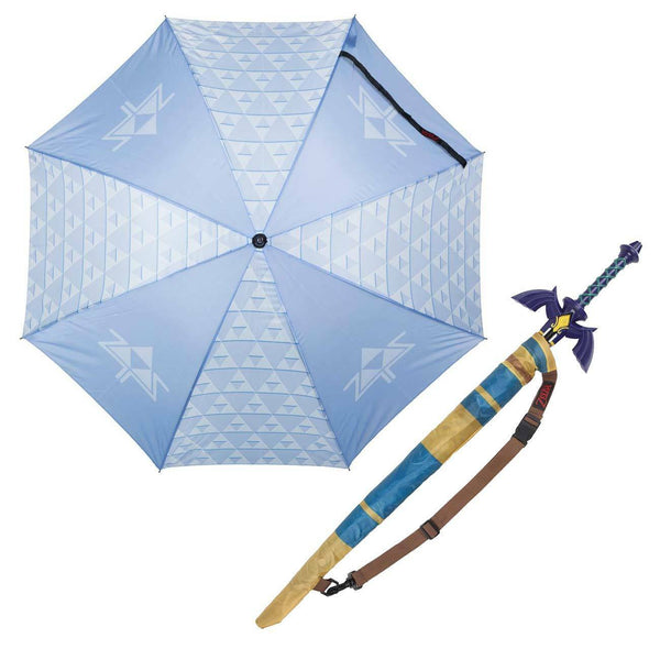 Legend of Zelda - Sword Sculpted Umbrella With Over the Shoulder Carrying Bag - Kryptonite Character Store