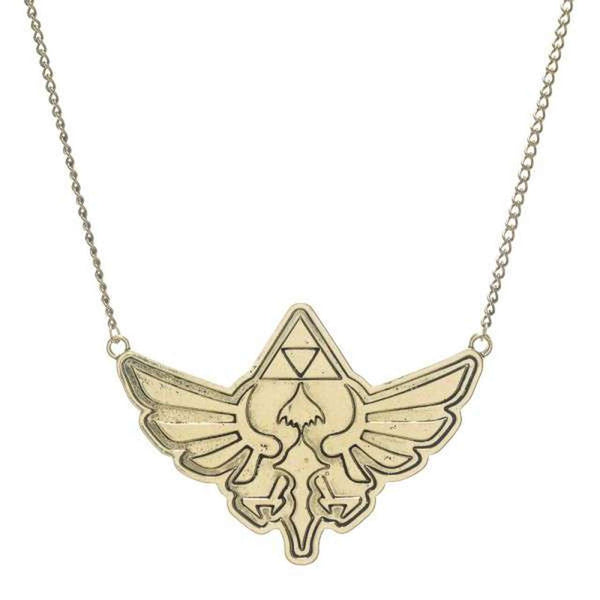 The Legend of Zelda Logo Necklace - Kryptonite Character Store