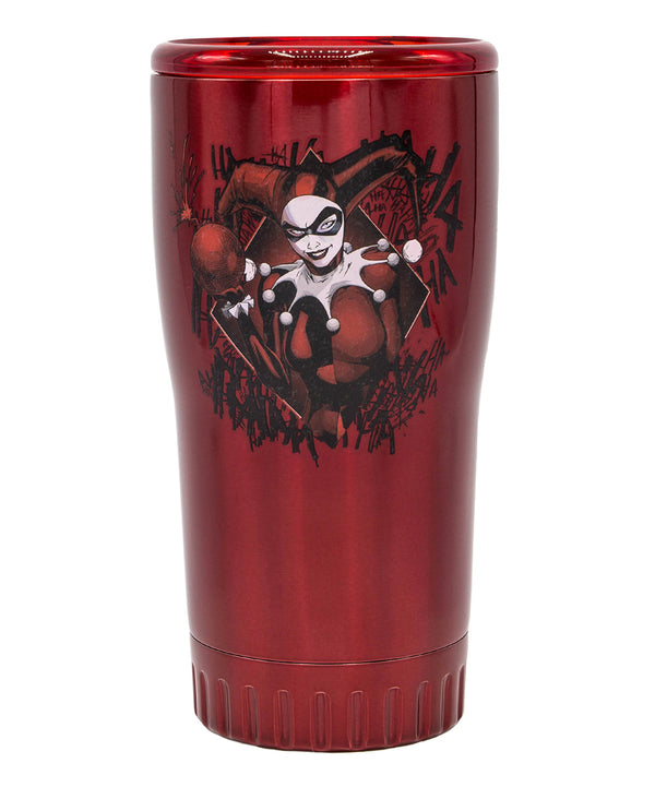 Harley Quinn Red Diamond 20-Oz. Tumbler - Kryptonite Character Store