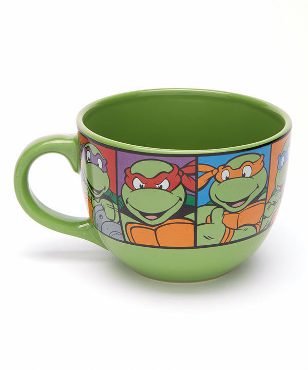 Teenage Mutant Ninja Turtles Bowl Mug - Kryptonite Character Store