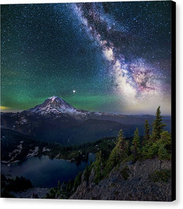 Lookout - Rainier From Tolmie Peak - Canvas Print