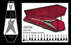 Extreme Coffin Guitar Case / Red Velvet