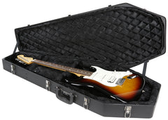Coffin Guitar Case / Black Velvet