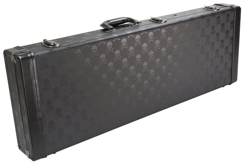 Skull Series Guitar Case / Black Velvet