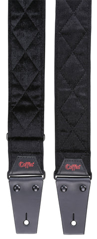 The Count / Black Velvet Guitar Strap