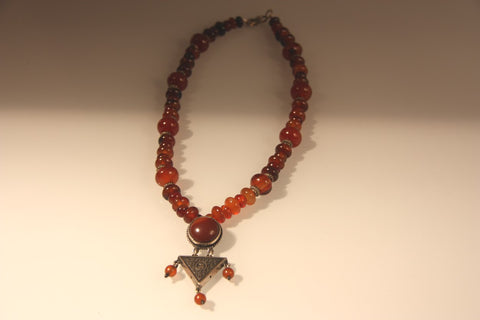 Chandelier Agate Necklace