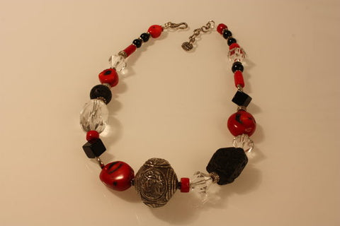 Cameleon Coral Necklace