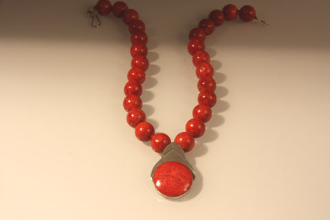 Sponge Coral Necklace