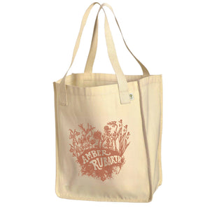 Organic Wildflowers Tote Bag