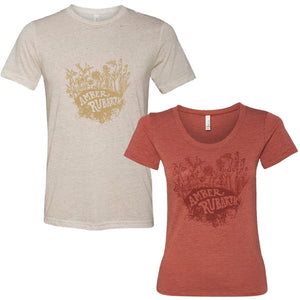 Organic T-Shirt - Unisex Oatmeal or Women's Clay