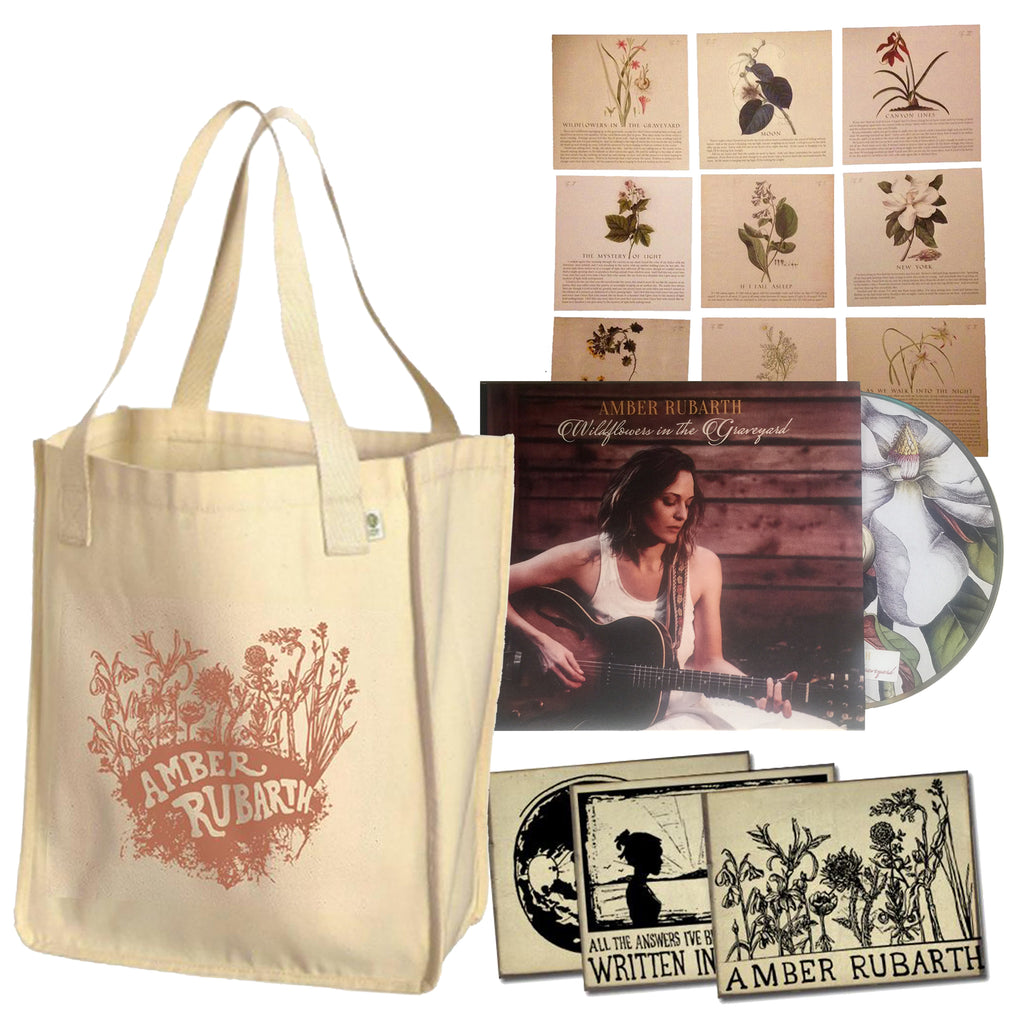 Organic Tote + CD + Lyric Set + Postcards!