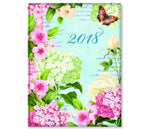 2018 Weekly Planner- Joy Hall Garden Art- 18 Month