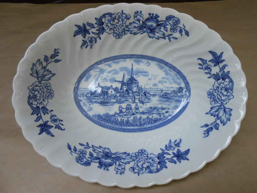 Tulip Time Serving Bowl - Johnson Brothers