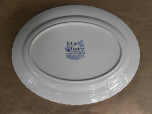 Tulip Time Serving Platter - Johnson Brothers