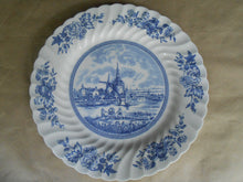 "Tulip Time 10"" Plate - Johnson Brothers"