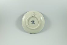 Amsterdam Tulip Museum Blue & White Tulip Delftware Ceramic Serving Plate