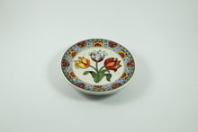 Amsterdam Tulip Museum Multi-Colored Tulip Delftware Ceramic Serving Plate