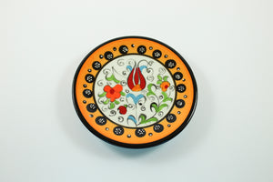 Amsterdam Tulip Museum Turkish Ceramic Tulip Serving Plate Yellow