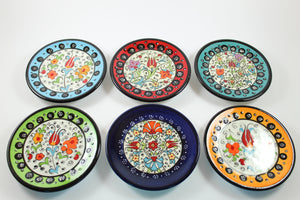 Amsterdam Tulip Museum Turkish Ceramic Tulip Serving Plates