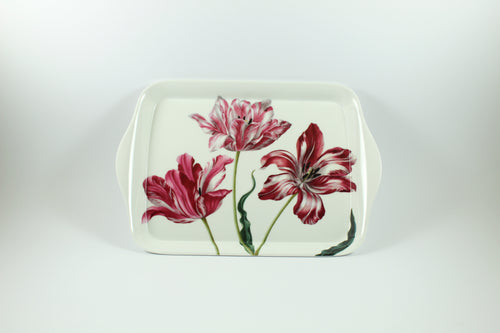 Amsterdam Tulip Museum Maria Sibylla Merian Three Tulips Serving Tray