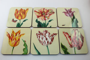 Amsterdam Tulip Museum Watercolor Tulips Coaster Sleeve