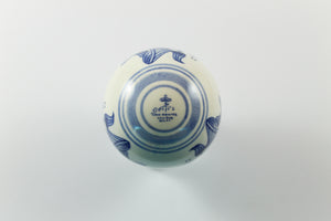 Amsterdam Tulip Museum Large Blue & White Ceramic Tulip Ornament