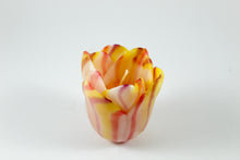 Amsterdam Tulip Museum Hand-made Tulip Shaped Wax Candle Striped