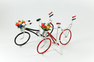 Amsterdam Tulip Museum Dutch Tulip Bicycle Desk Decoration