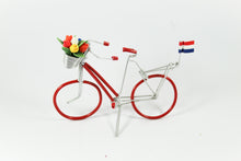 Amsterdam Tulip Museum Dutch Tulip Bicycle Desk Decoration Red