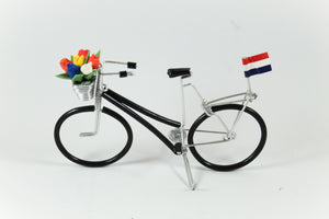 Amsterdam Tulip Museum Dutch Tulip Bicycle Desk Decoration Black