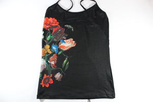 Amsterdam Tulip Museum Black Tulip Tank Top Flowers In A Glass Vase By Jan Davidz De Heem