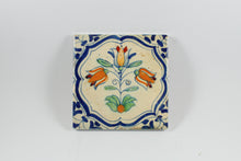 Amsterdam Tulip Museum Triple Tulip Old Dutch Ceramic Tile