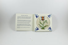 Amsterdam Tulip Museum Single Tulip Old Dutch Ceramic Tile