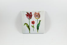 Amsterdam Tulip Museum Jacob Marrel Tulips And Insects Painting Ceramic Coaster