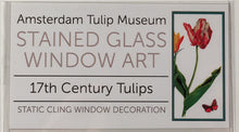 17th Century Tulips Amsterdam Tulip Museum Window Sticker