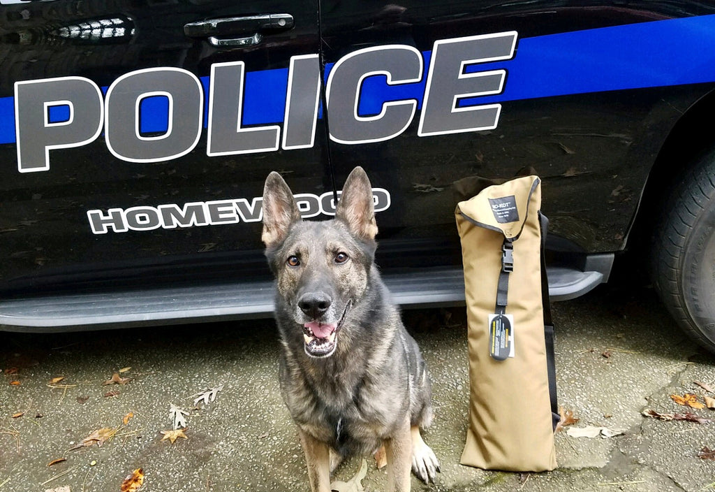 K9 Officer, Shiloh, Recieves First K9-KOT™
