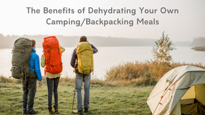 The Benefits of Dehydrating Your Own Camping/Backpacking Meals
