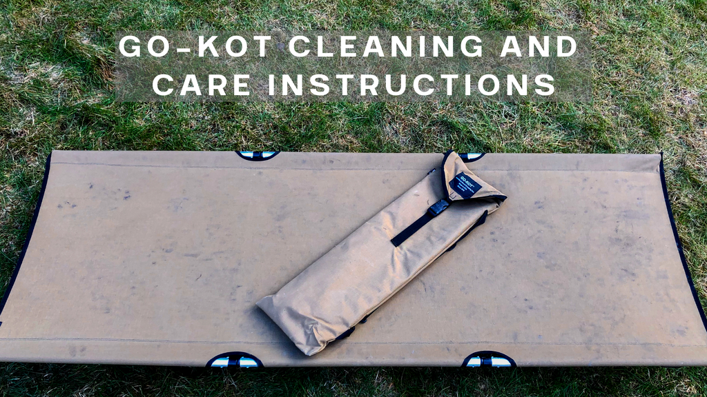 GO-KOT Cleaning and Care Instructions