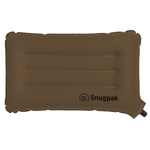 Snugpak Basecamp Ops Inflatable Air Pillow for Camping in Coyote Brown