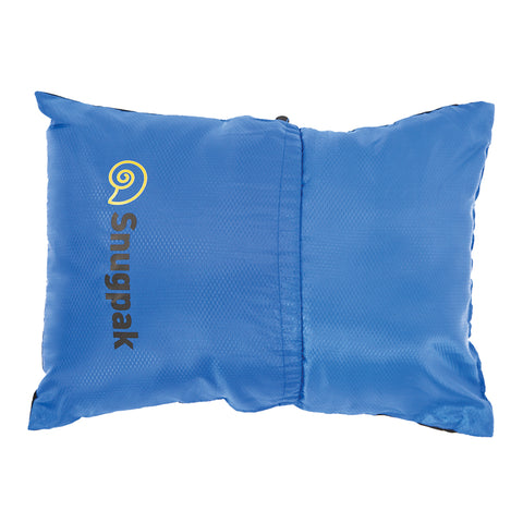 Snugpak Light Blue Travel Pillow for Camping and Trips