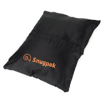 Snugpak Black Travel Pillow for Camping and Trips