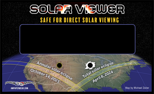 American Eclipse Solar Viewer 4-pack