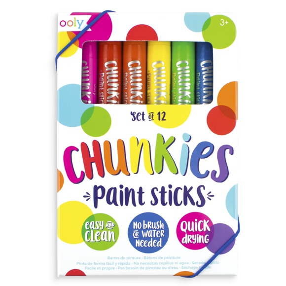 Chunkies Paint Sticks International Arrivals - Babies in Bloom