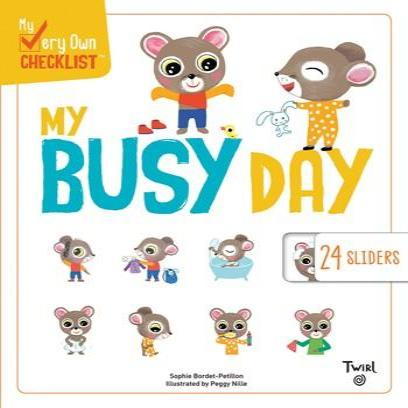 My Busy Day Chronicle Books - Babies in Bloom