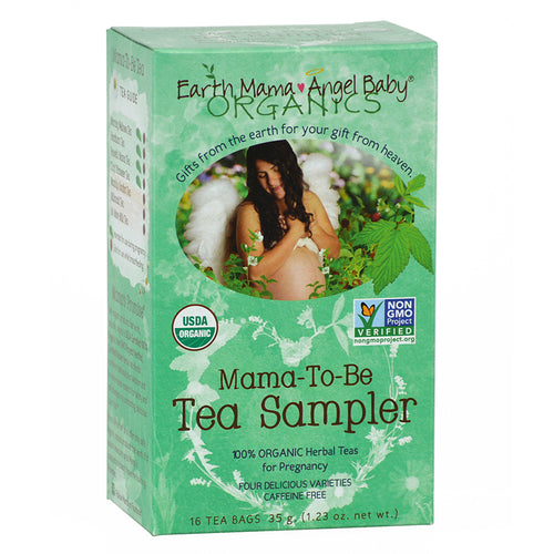 Earth Mama Organics Mama-to-Be Tea Sampler Earth Mama Organics - Babies in Bloom