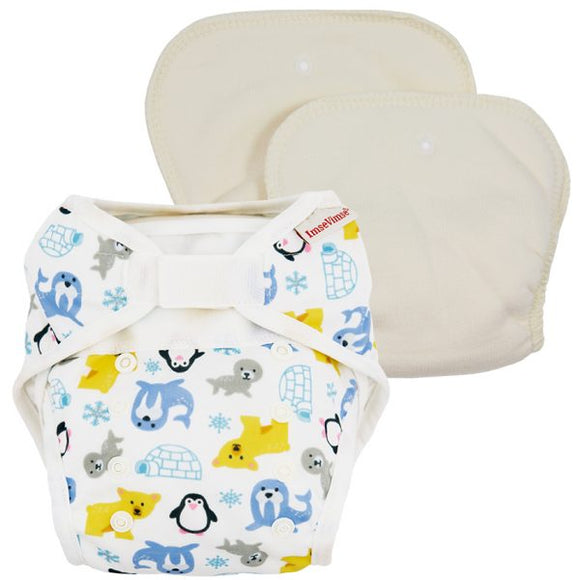All-in-2 Diaper Cover + Inserts Imse Vimse - Babies in Bloom