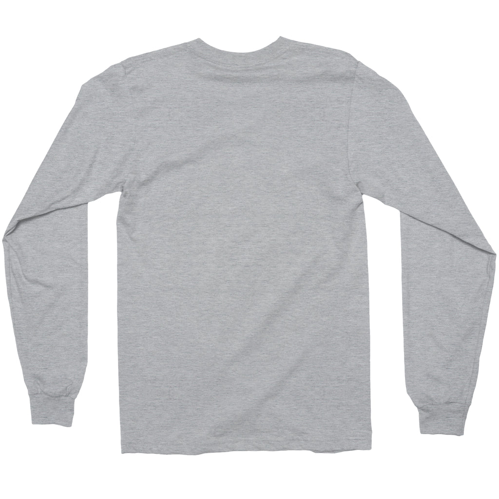 fadcc5191f American Apparel Unisex Fine Jersey Long Sleeve T-Shirt. Heather Grey  Heather Grey