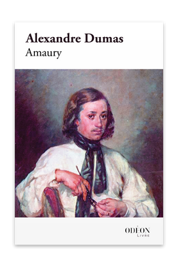 Cover of Amaury by Alexandre Dumas