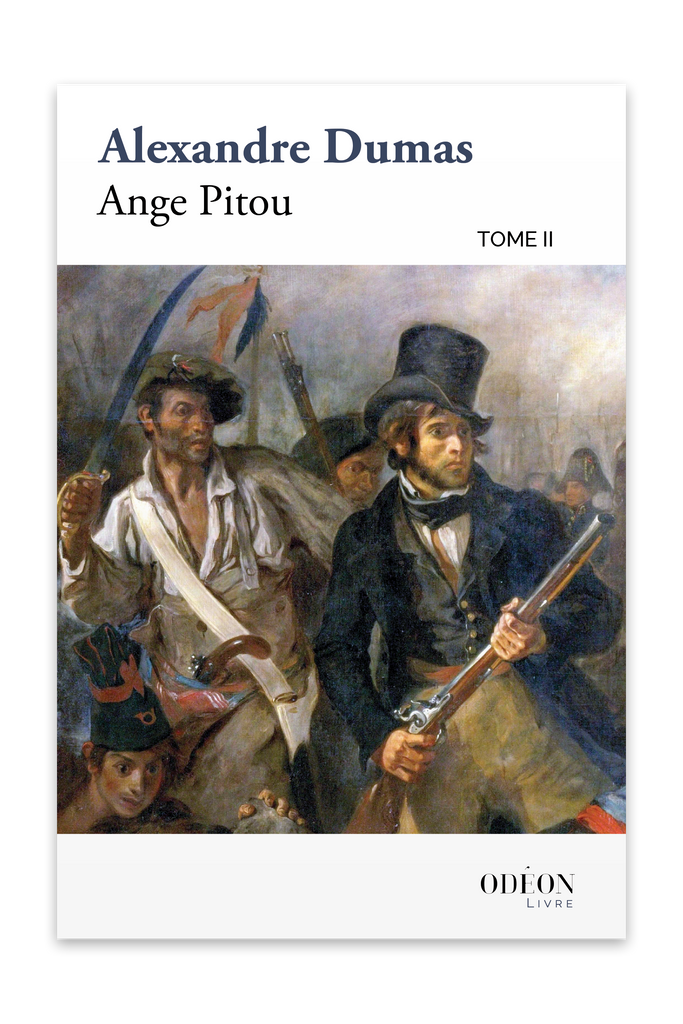 Cover of Ange Pitou - Tome II by Alexandre Dumas