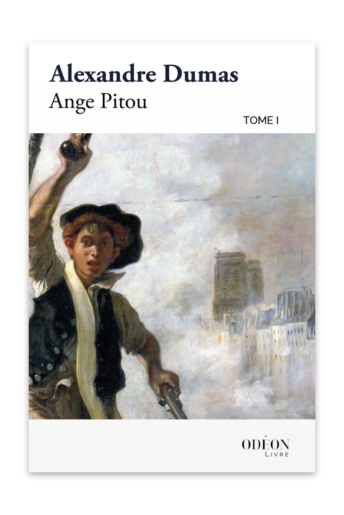 Cover of Ange Pitou - Tome I by Alexandre Dumas
